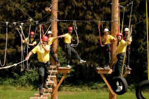 Das Team des Hochseilgarten und Nature Sport Center Bad Griesbach