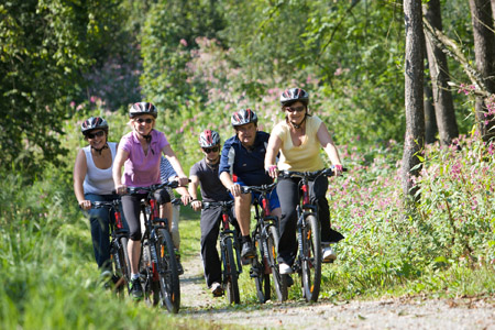 Geführte Rad- und Mountainbike-Touren mit dem NSC